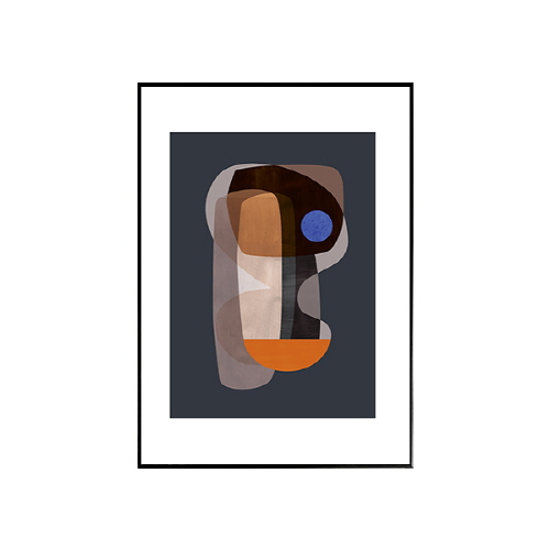 The posterclub-  추상 큐비즘 (abtract-cubism) 50x70