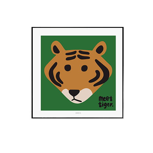 Warmgreytail- Meet Tiger Green 50x50